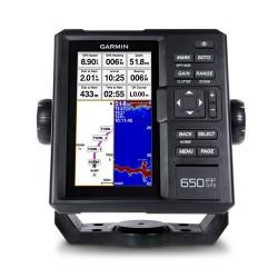 Эхолот Garmin FISHFINDER 650 GPS с трансдьюсером GT20-TM
